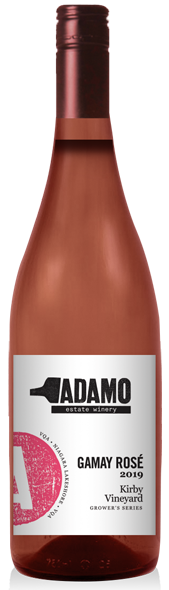 2019 Kirby Gamay Rose at Adamo Estate Winery