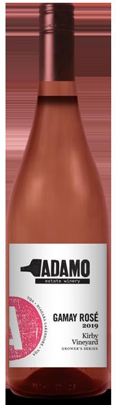 2019 Kirby Gamay Rose at Adamo Estate Winery
