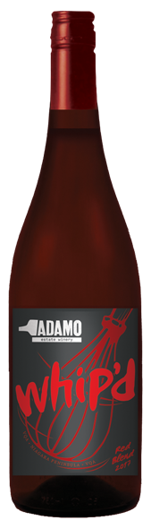2018 Whip'd Red wine at Adamo Estate Winery