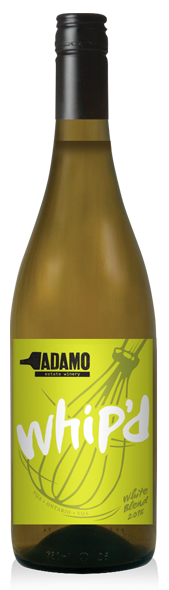 2018 Whip'd white wine at Adamo Estate Winery
