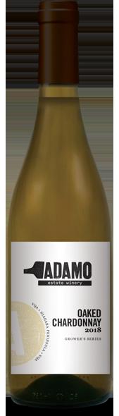 2018 Oaked Chardonnay at Adamo Estate Winery