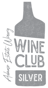 Adamo Estate Winery Silver Wine Club membership logo