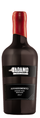 2017 appassimento wine at Adamo Estate Winery