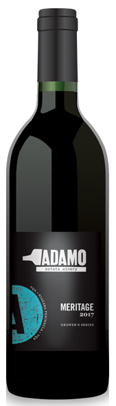 2017 Meritage wine at Adamo Estate Winery