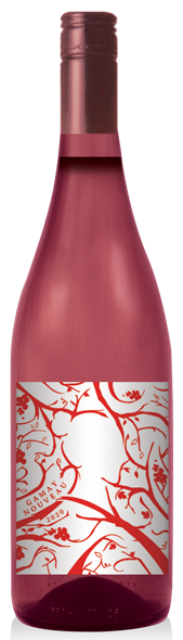 2020 Gamay Nouveau rose wine at Adamo Estate Winery