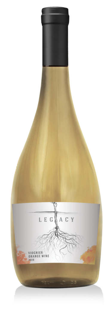 2018 Legacy Viognier Orange wine at Adamo Estate Winery