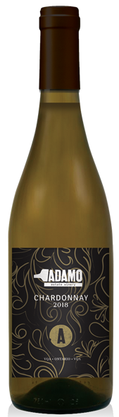 2018 Estate Chardonnay at Adamo Estate Winery