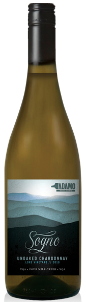 2019 Sogno wine at Adamo Estate Winery