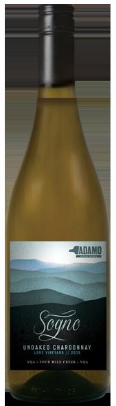 2019 Sogno wine at Adamo Estate Winery
