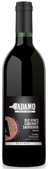 2016 Lenko Cabernet Sauvignon 2016 wine at Adamo Estate Winery