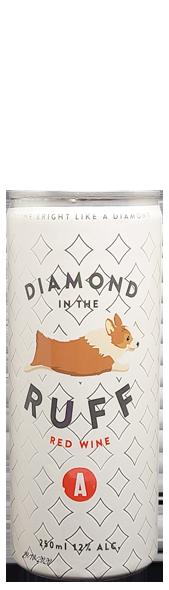 Diamond in the Ruff wine can at Adamo Estate Winery