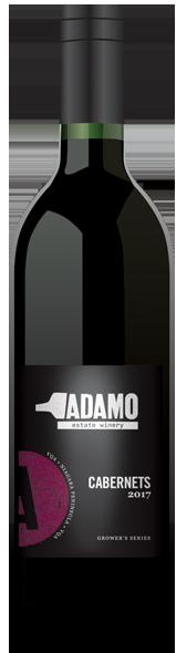 2017 Cabernets wine bottle